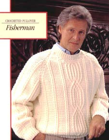 Fisherman's Crocheted Pullover