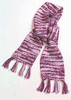 Short & Sweet Knit Scarf