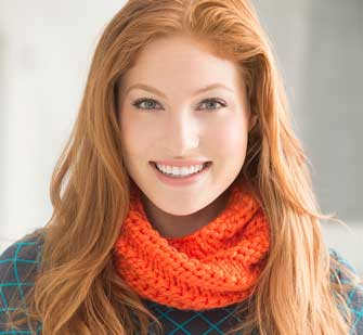 easy-to-knit cowl