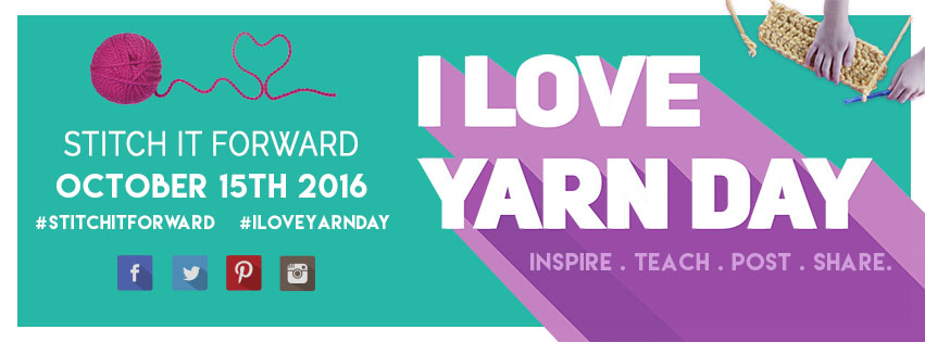 Facebook I Love Yarn Day banner