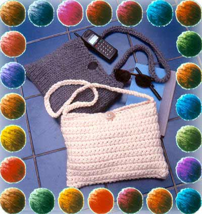 craft yarn council crochet pattern crocheted pouch crochet club 1712